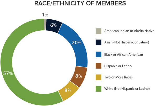 Race/Ethinicity of SCA Members