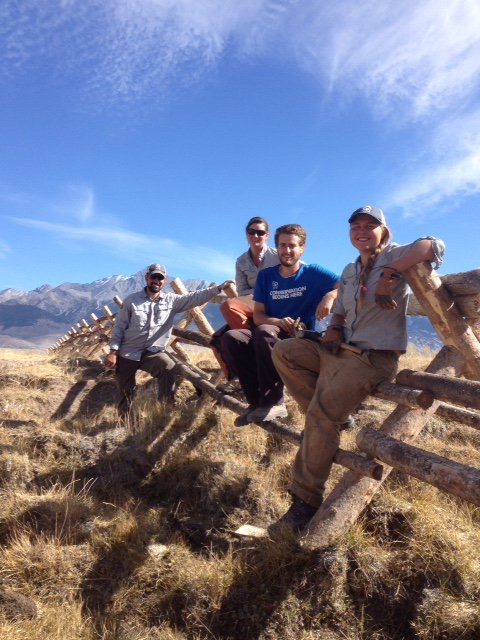 SCA Team at BLM's Chilly Slough Wetland in Idaho