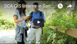 SCA Video archive contains video of SCA programming from around the nation, including this California GIS Mapping Crew