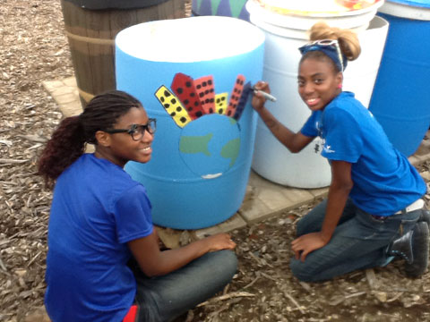 Young people in Philadelphia are engaged in improving our treasured outdoor spaces through SCA's community crews