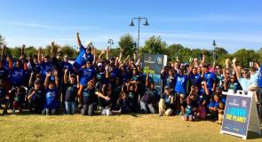 Domtar and Student Conservation Association youth volunteers conserve parks in Waco, Texas.