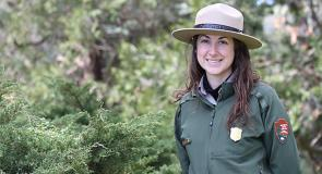 SCA Alum Leah Duran is currently a NPS employee at San Fransicso Maritime National Historic Park