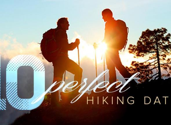 Bond with your Valentine's Day sweetheart over a mutual love for the Great Outdoors with these 10 perfect hiking dates.