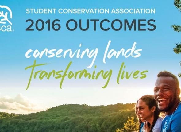 Check out our 2016 Outcomes Infographic to see how your support helped SCA conserve lands and transform lives in 2016.