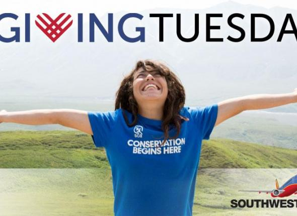 GivingTuesday: the Student Conservation Association are dedicating this day for giving back.