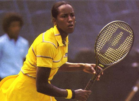 SCA Alum and former Tennis Pro Leslie Allen at the New York Open