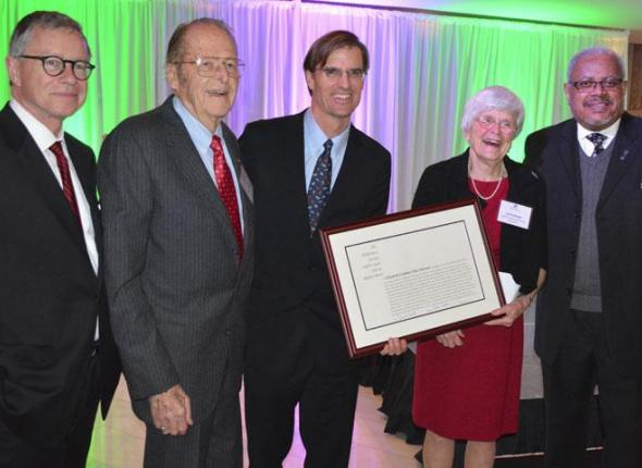 SCA Founder Liz Putnam presented the Robert Marshall Award from the Wilderness Society
