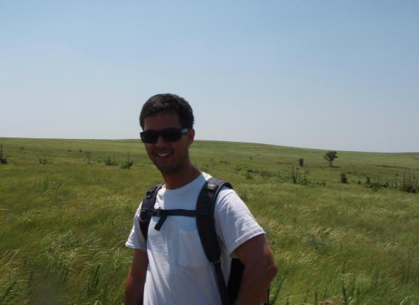 Jeff in the Tallgrass.