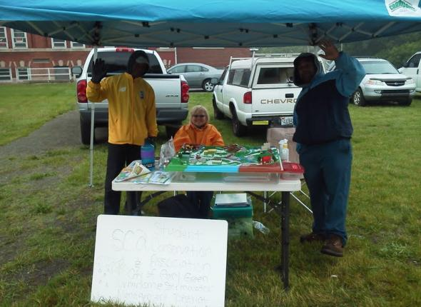 Outreach at Miller Beach Farmers' Market