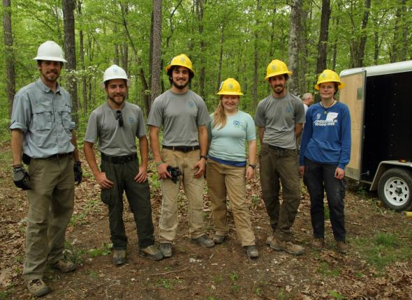 Photo Courtesy of The OTA: SCA Corps Members assist OTA with their Mega Event.