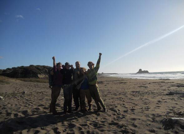 Last day of work for the 2011 California Wildcorps . . . INTO THE BREACH!!!