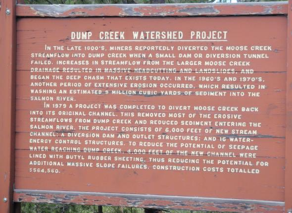 Description of Dump Creek