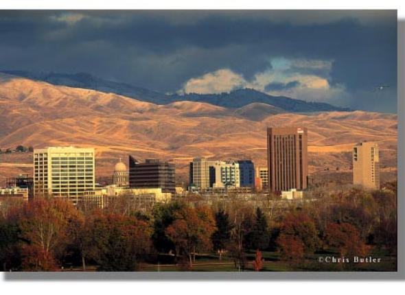Boise, ID- a beautiful place to live and work