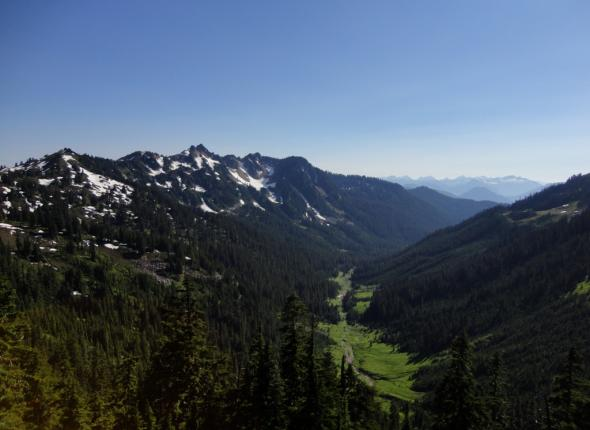 The North Fork Valley and West Cady Ridge