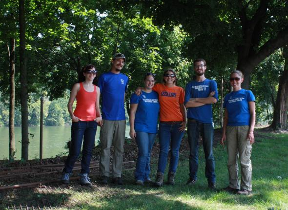 2012 RTOC: L-R: Cat, Ryan, Sam, Marah, Jeff, and Jenna