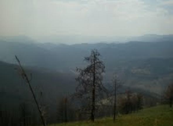 Smokey view from Spring Creek