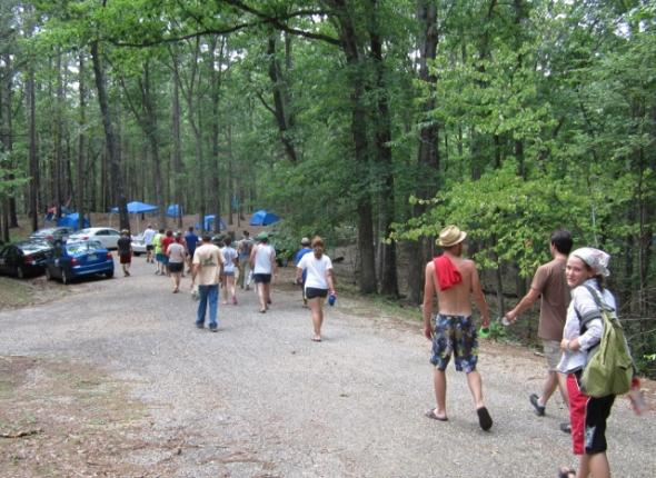 Leave No Trace training in Arkansas!