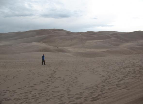 Mike @ Great Sand Dunes Nat'l PArk