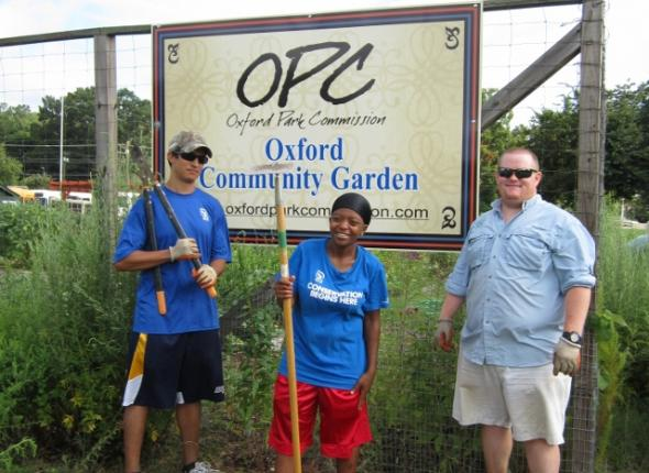 Oxford Community Garden