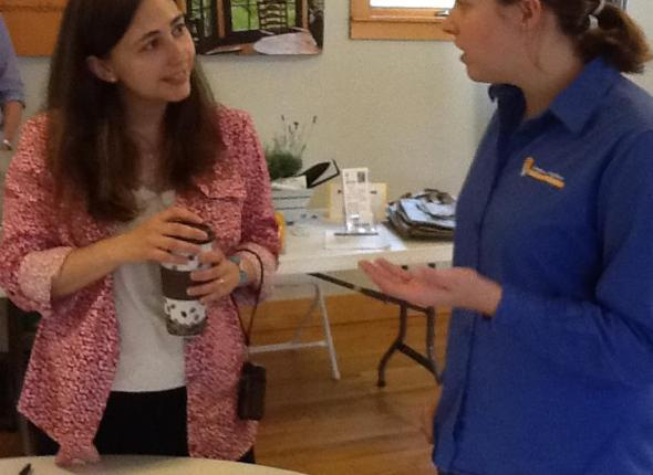 Talking to a Realtor in East Hampton