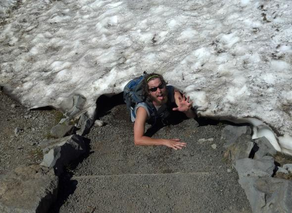 "Photo entitled ""this will not make the website""- Mt. Rainier NP"