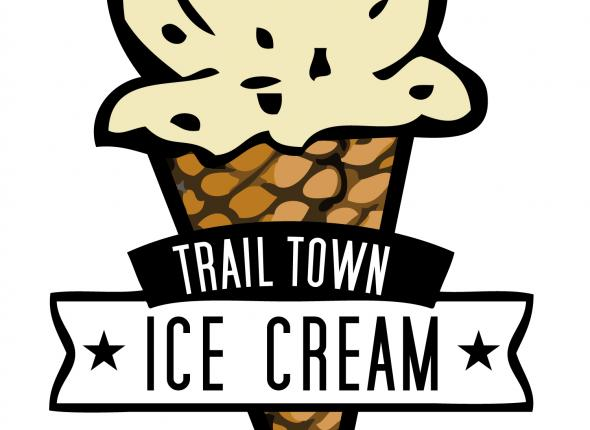 Trail Town Ice Cream logo