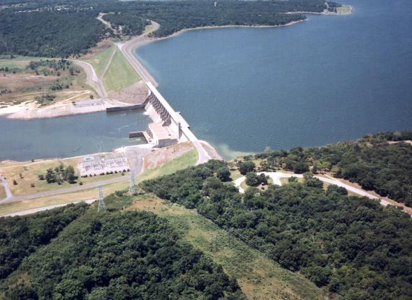 Eufaula Lake and Dam