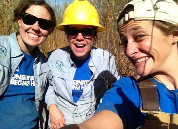 The ladies of the WildCorps team!