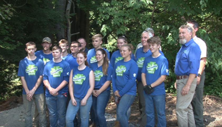 2019 PA Outdoor Corps in Wellsboro, PA