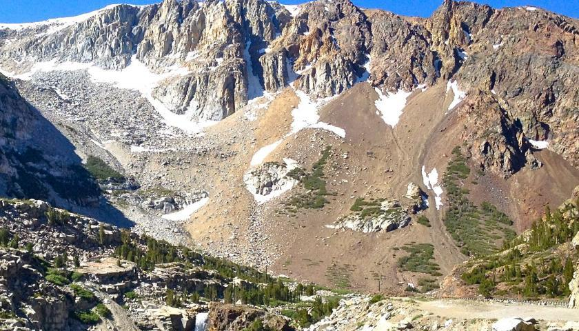 Tioga Pass, gateway to an SCA internship at Devils Postpile National Monument