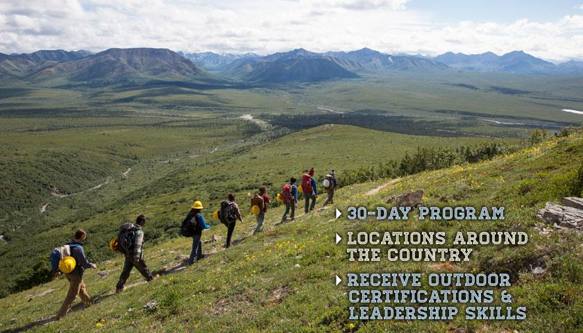 SCA Youth Leadership Crews, internships for outdoor skills and certification