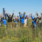 SCA Crewmembers in Chicago help clean up Hegewisch Marsh