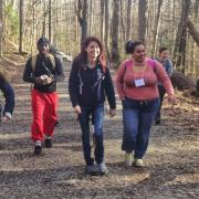 Students gather in the Smoky Mountains National Park for SCA's NPS Academy