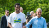 SCA Member Kailon Lang with Chicago Mayor Rahm Emanuel