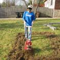 Communal Garden Project: Mike Vasquez and the rototiller get serious...