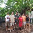 Mississippi team and the largest Catalpa Tree in the state!