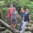 Our trip to the Smoky Mountains. Hey, where is Sam and Brenna?
