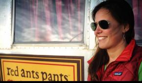 Red Ant Pants founder and SCA Alum Sarah Calhoun